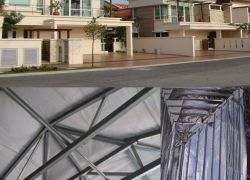 industrial projects for metal roofing