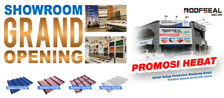 Top Supplier Of Metal Roofing Roof Insulation Solutions In Malaysia